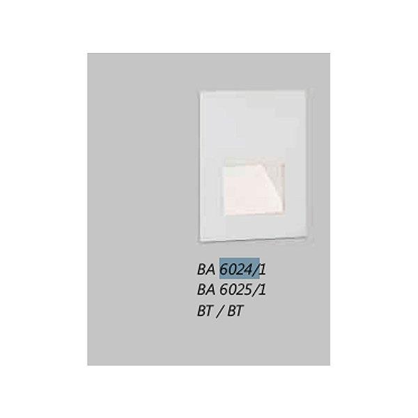 BALIZADOR Usina VOLT PAREDE 6024/1 Escadas Entradas 1xPCI LED 5W(110 220V) 80X100X50
