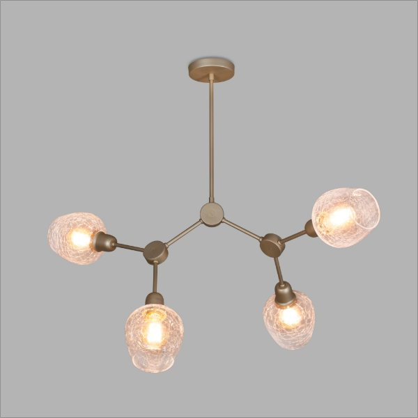 PENDENTE Usina Design ATOMOS 16325/6 Quartos Sala Estar Cozinhas 6E27 870x555x1100