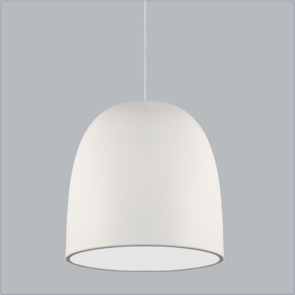PENDENTE Usina Design AUGE com DIFUSOR 16055/40 Quartos Sala Estar Cozinhas 3 E27 Ø400X410X1500