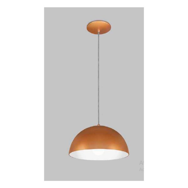 PENDENTE Usina Design BALÓN sem DIFUSOR 16015/40 Quartos Sala Estar Cozinhas 1 E27 Ø400X200X1000