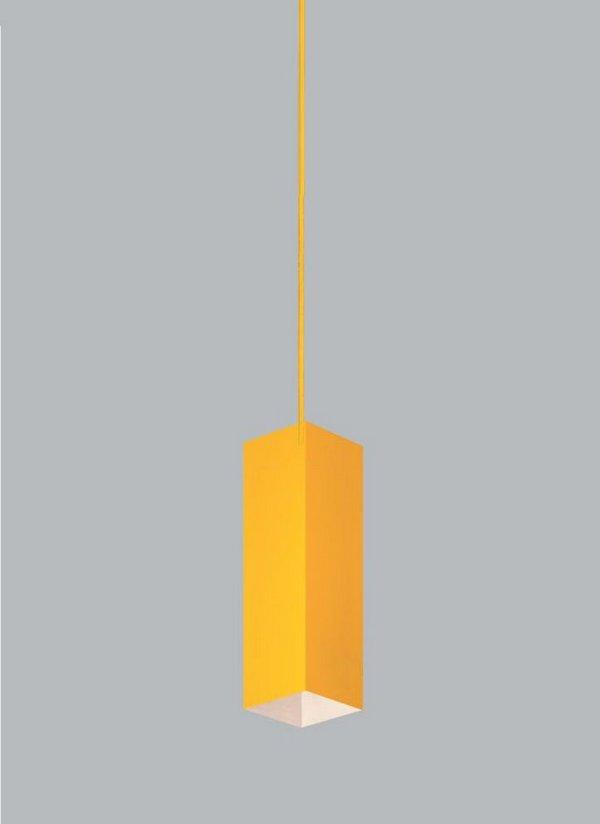 PENDENTE Usina Design QUADRA 90mm 16261/60 Quartos Sala Estar Cozinhas 1 E27 110x600x1000