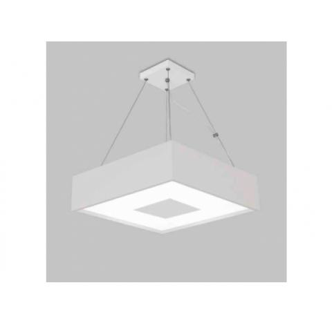PENDENTE Usina Design QUADRADA DONNA 4096/45 Sala Estar Cozinha Quartos 4 E27 450x450x120