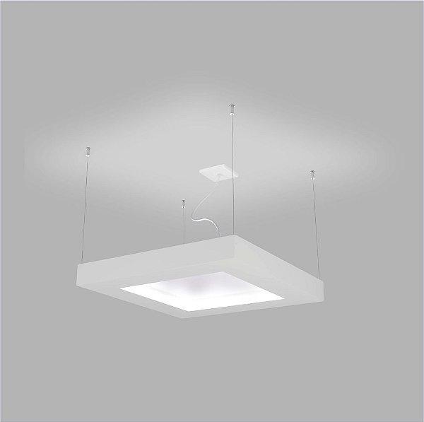 PENDENTE Usina Design QUADRADO SERENA CH 4801/50 Sala Estar Cozinhas Quartos 8 E27 500x500x70x1000