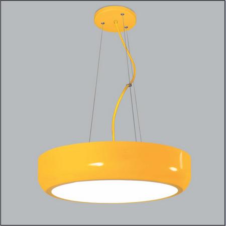 PENDENTE Usina Design REDONDO JUPITER 4141/50 Sala Estar Cozinha Quartos 6 E27 Ø 500X115