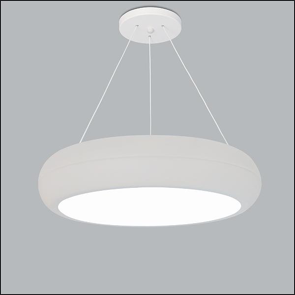 PENDENTE Usina Design REDONDO RING 4191/50 Sala Estar Cozinhas Quartos 4 E27 Ø 500X100