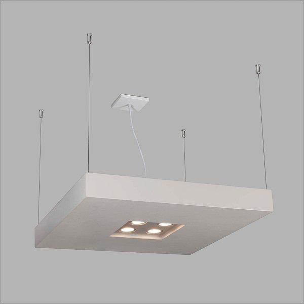 PENDENTE Usina Design RETANGULAR BORE CH 4604/125 Sala Estar Cozinhas Quartos 4 T8 120 cm 06 GU10 MR16 350X1250X70