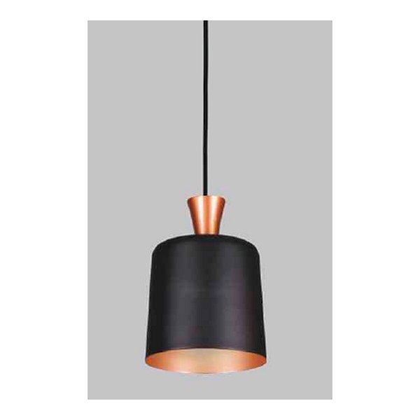 PENDENTE Usina Design sem DIFUSOR com CONE de 90mm 16313/12 Quartos Sala Estar Cozinhas 1 E27 Ø120x220x1000