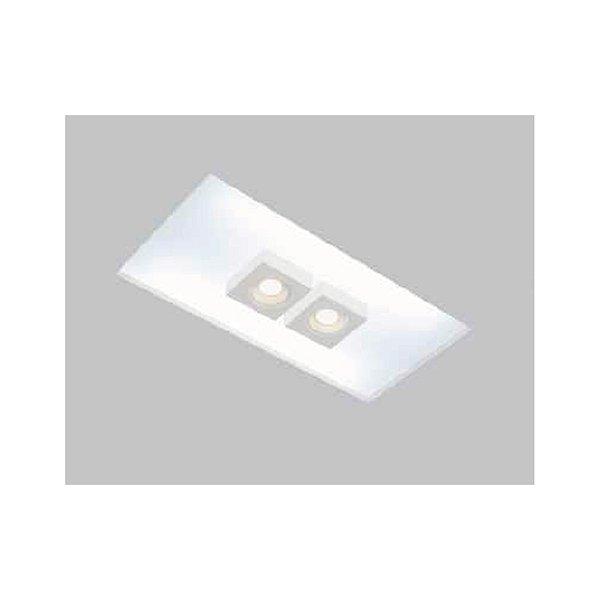 Plafon EMBUTIDO Usina Design NO FRAME BOX 290x1250mm Teto Gesso Sanca 30432/130F 4xT8 120CM 2GU10 MR16 290x1260x80