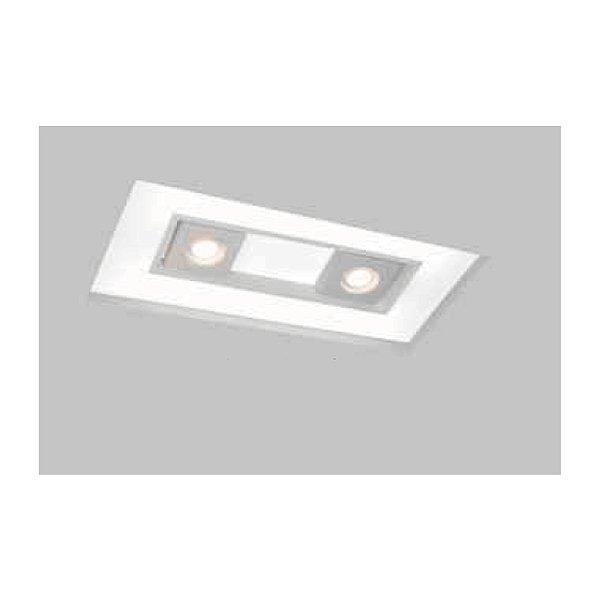 Plafon EMBUTIDO Usina Design NO FRAME FOCUS 290x650x100mm 30616/65 Teto Gesso Sanca 4xT8 60CM 2GU10 MR16 300x660x100