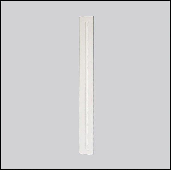 Plafon EMBUTIDO Usina Design RETANGULAR MAGNUM 40x1195x60 3606/125F Teto Gesso Sancas 1T5 28W 60x1225x60