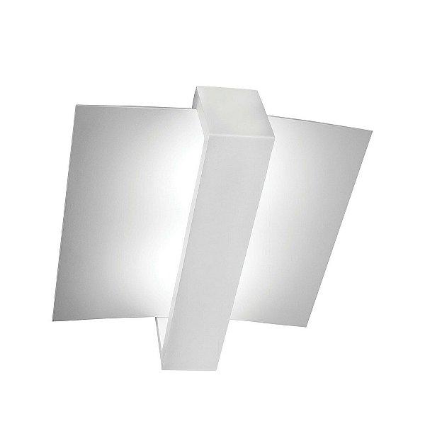 Plafon Newline Iluminação Aile Moderna Linear Curvo Metal 50x43cm 5x PCI LED 6W 192BTBT Sala Quarto e Cozinha