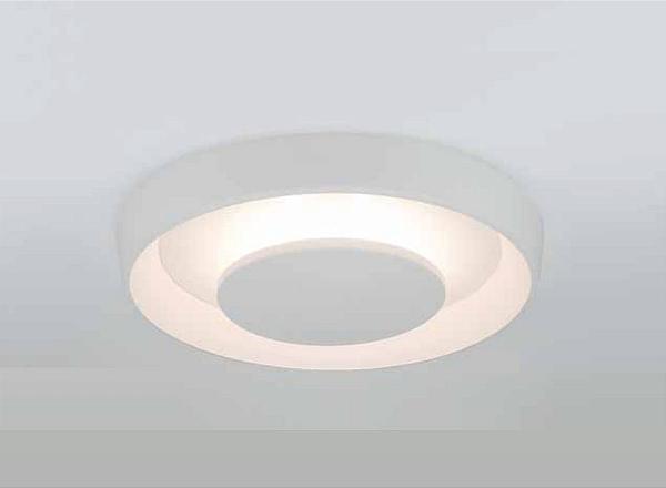 Plafon Newline Iluminação Iris Redondo Metal Acrílico Branco 10,2x47cm PCI LED 24W 2700K 451LEDBT Sala Quarto e Cozinha
