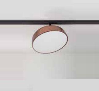 Plafon Newline Iluminação Victoria Redondo Sobrepor Metal Acrílico 9,5x29cm 1x E27 25W Bivolt 110v 220v 160APCO Sala Quarto e Cozinha