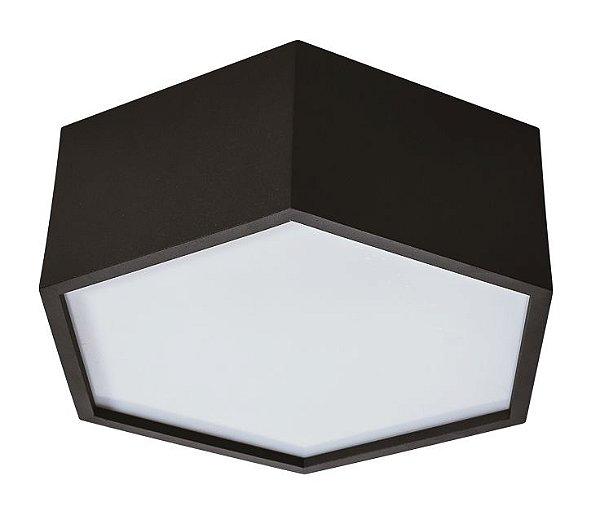 PLAFON Usina Design HEXA 16420/45 4 E27 Ø450x120