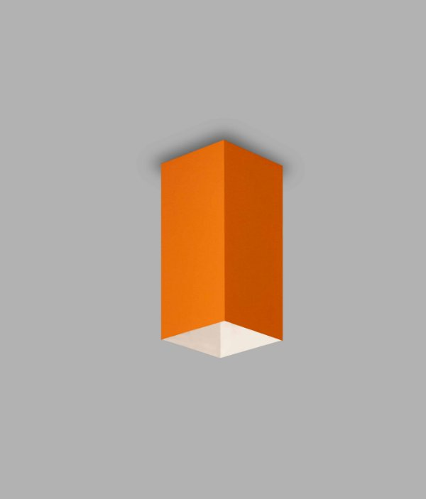 PLAFON Usina Design QUADRA 76mm 16262/40 Quartos Sala Estar Cozinhas 1 E27 76x76x400