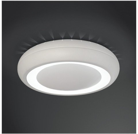 PLAFON Usina Design REDONDO VENUS LUX 4165/50 Sala Estar Cozinhas Quartos 04 G9 Ø 500X100