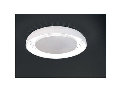 Plafon Usina Design Sobrepor  acrílico leitoso Texturizado Redondo Branco Ø60 Plutão Lux G9 4205/50 Sala Estar Cozinhas