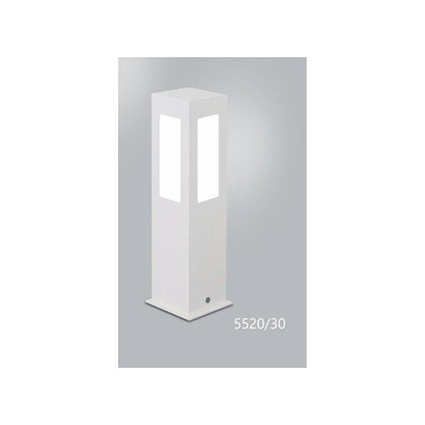 POSTE Usina Design QUADRADO JARDIM ALBERINO 5520/30 Amb. Externo 1 E27 90x90x300