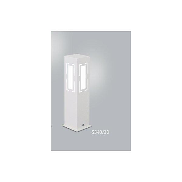 POSTE Usina Design QUADRADO JARDIM ALBERINO 5540/30 Amb. Externo 1 E27 90x90x300