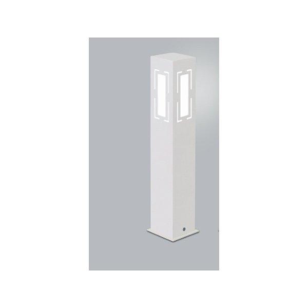 POSTE Usina Design QUADRADO JARDIM ALBERINO 5540/50 Amb. Externo 1 E27 90x90x500