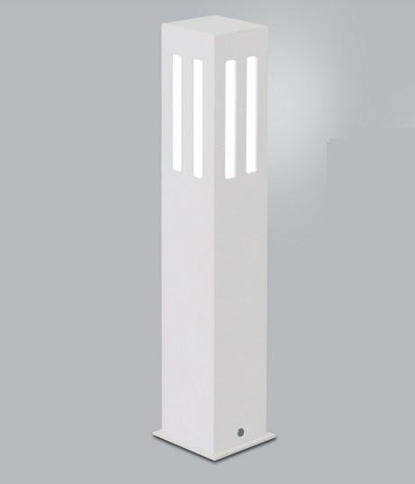 POSTE Usina Design QUADRADO JARDIM ALBERINO 5570/50 Amb. Externo 1 E27 90x90x500