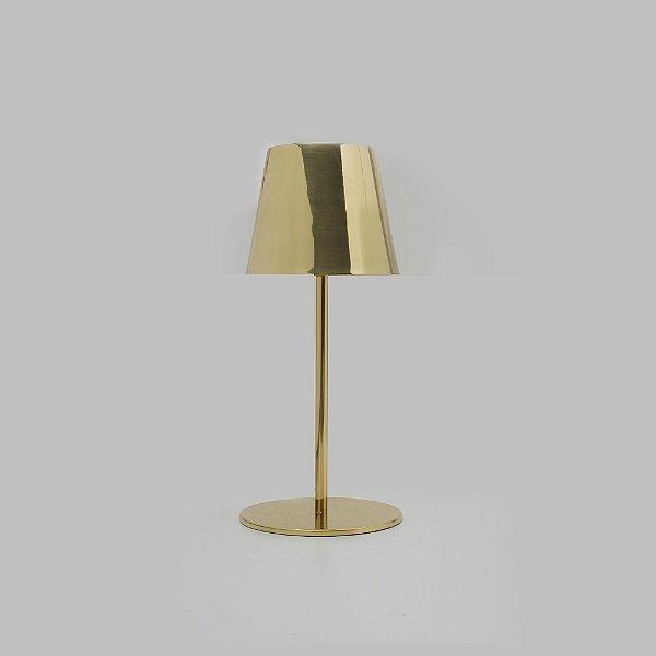 Abajur Golden Art Didi Plásticos Tecido Linear Bege 46x19cm 1x Lamp. E27 110v 220v Bivolt M903 Cabeceira Cama Mesas de Canto