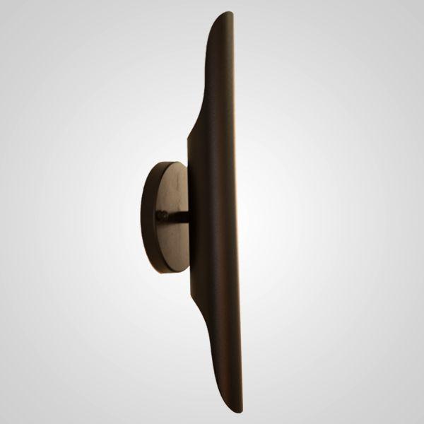 Arandela Golden Art Doss Epox Tubo Linear Metal 2x40cm 2x G9 Halopin 110v 220v Bivolt P840 Quartos Entradas