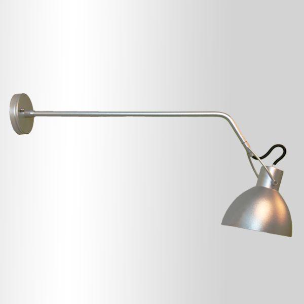 Arandela Golden Art Seed Haste Com Regulagem Metal Cromo 9,5x50cm 1x Lamp. E27 110v 220v Bivolt P893-B-50 Mesas Balcões