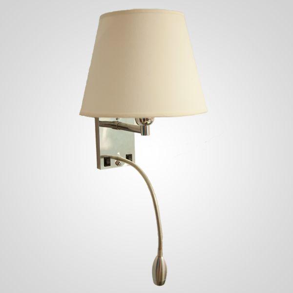 Arandela Golden Art Starck Cupula Focada Metal Tecido 30x37cm 1x Lamp. E27 110v 220v Bivolt P656 Escritórios Home Office Quartos
