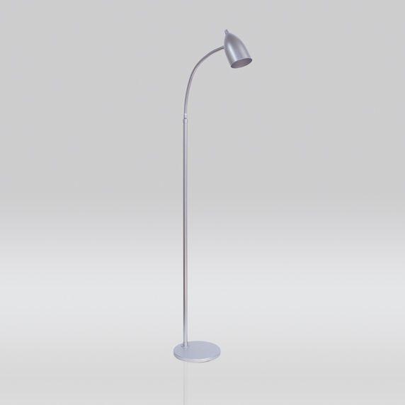 Coluna Luminária Chão Golden Art Regulável Metal Calha Cone 110v 220v Bivolt 1,30m Bizz E-27 C659 Sala Estar Saguão
