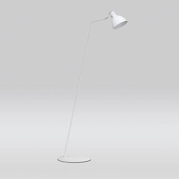 Coluna Golden Art Seed Inclinada Cupula Sino 1/2 Esfera Metal Branco 130x30cm 1x Lamp. E27 110v 220v Bivolt C893 Sala Estar Quartos