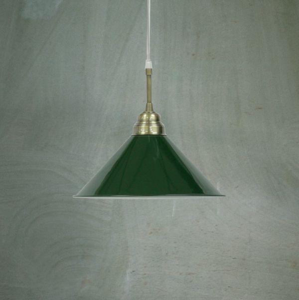 Pendente Golden Art Bilhar Sinuca Cone Metal Cores Personalizadas Cabo PP Regulável Ø30x1,20 E-27 T140-1 Sala Estar Saguão