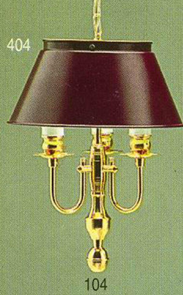Pendente Golden Art Inglês Vintage Dourado Cúpula Colorida 3 Lamp. 26x41 E-27 T012 Sala Estar Saguão