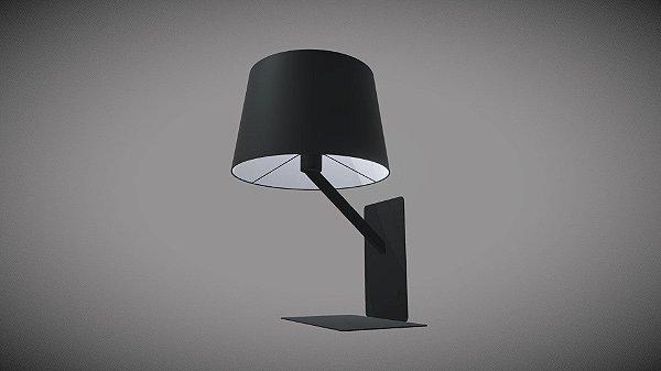ARANDELA Mantra Co 30515  CITTA  Carregar USB   Preto FOSCO   1 Lamp  E27 BIVOLT D-23cm H-36cm P-25cm Quartos e Leitura
