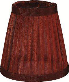 MINI Cupula de Lustres Mantra Co 2450 ORGANZA Vermelha Vinho