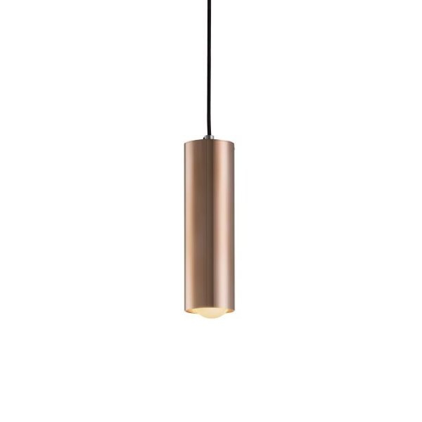 PENDENTE Klaxon Iluminação TUBE P Tubular Cilindrico Vertical  7,6 cm x 20 cm  x 7,6 cm