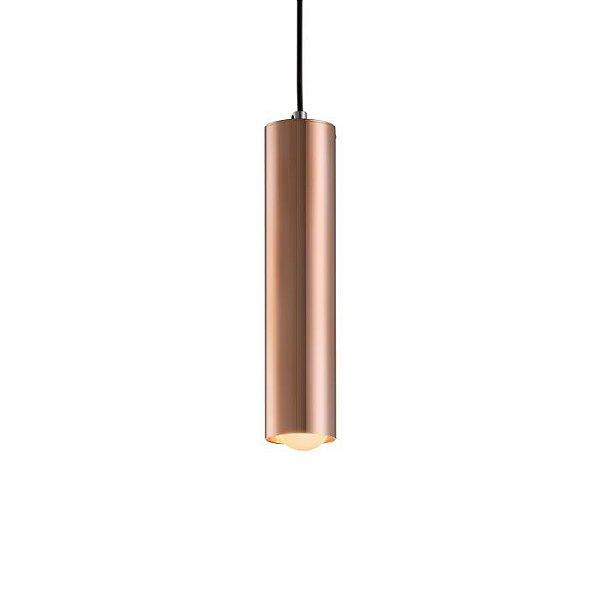 PENDENTE Klaxon Iluminação TUBE M Tubular Cilindrico Vertical 7,6 cm x 40 cm x 7,6 cm