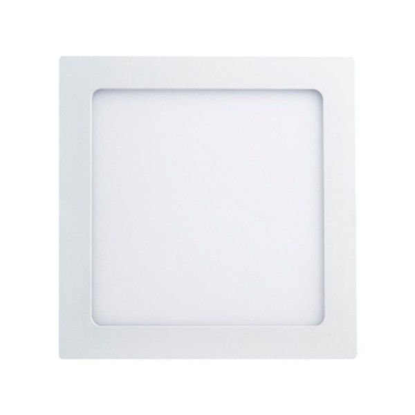 PLAFON Bella Ilumy DL138CW EMBUTIDO SMART ABS 18W 6500K A2,5xL22,5xC22,5 Branco Quadrado