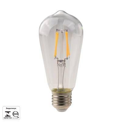 LAMPADA Bella Ilumy DE FILAMENTO DE LED ST58 E27 4,5W 480LM 2700K 127-22 LP159C