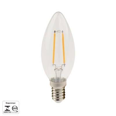 LAMPADA Bella Ilumy FILAMENTO DE LED E14 2,5W 250LM 2700K BIV LP176C