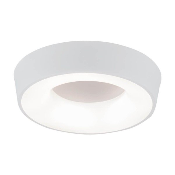 PLAFON Newline NLN 580LED3 APOLLO Redondo Clean 16,8W 3000K Luz Quente 127/220V DIAM. 350X85MM
