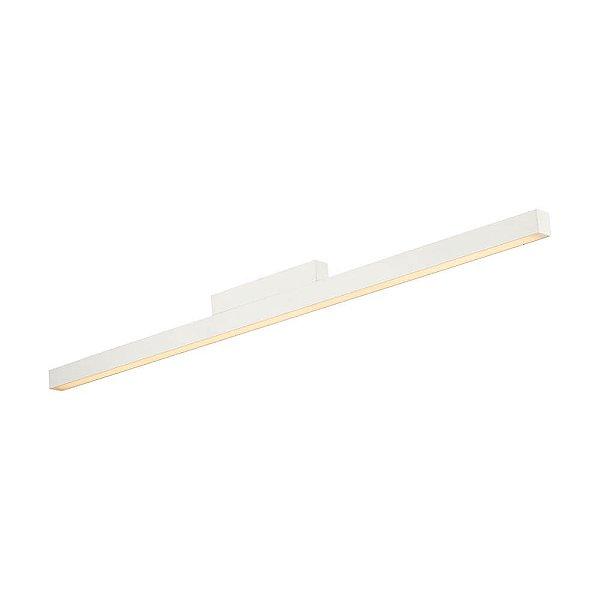 PLAFON Newline NLN 631LED4 FIT LED Sobrepor Perfil Clean 24W 4000K Luz Fria 127/220V 860X25X57MM