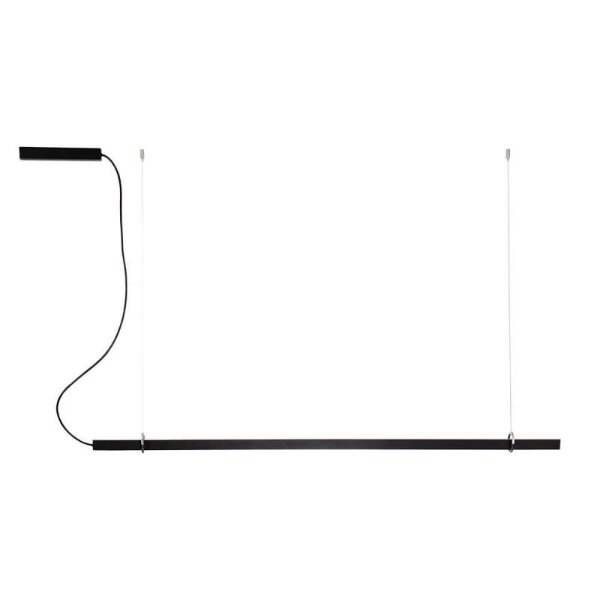 PENDENTE Newline NLN 662LED3 FIT LED Perfil Moderno Suspenso 32W 3000K Luz Quente 127/220V 1140X25X28MM