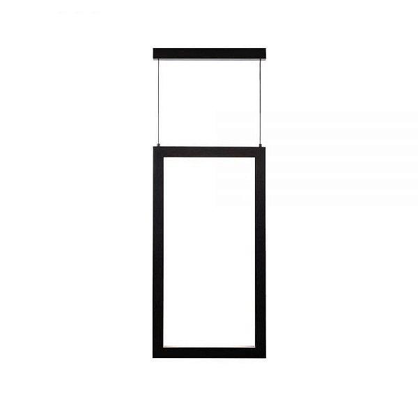 PENDENTE Newline NLN FIT LED 755LED4 Perfil Moderno Pendurado 18,9W 4000K Luz Fria 127/220V 295X28X550MM