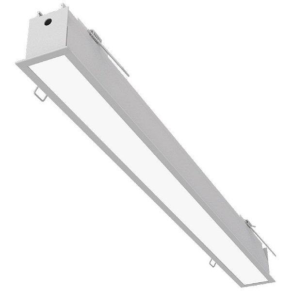 Plafon EMBUTIDO Newline NLN FIT 40 LED Perfil Moderno EM0402LED4 32W 4000K Luz Fria 127/220V 1155X52X70MM