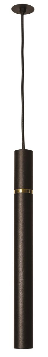 PENDENTE FILETTO Usina Iluminação 16505/40  Tubular Pendurado Ø22 mm x 40cmx1m Cabo 1 - G9