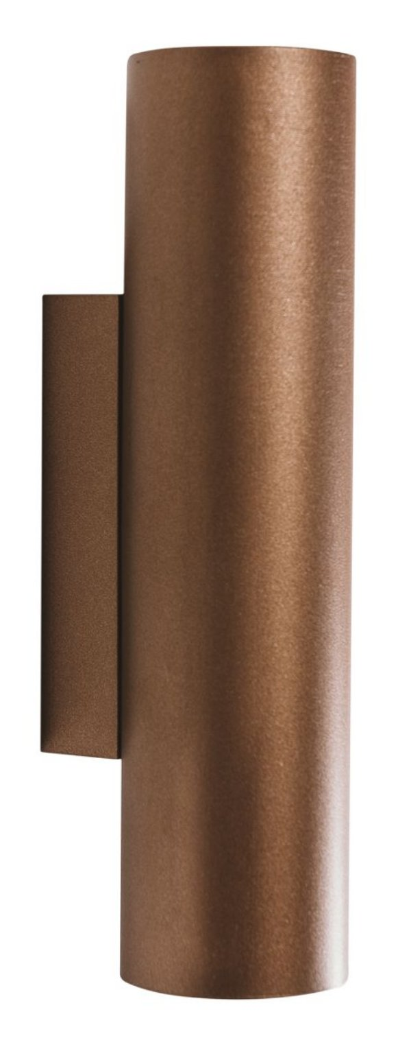 ARANDELA FINI 5806/2 Usina Iluminação Tubular Moderna Aluminio x  Ø5,7x30cmx8cm x 2xMR16