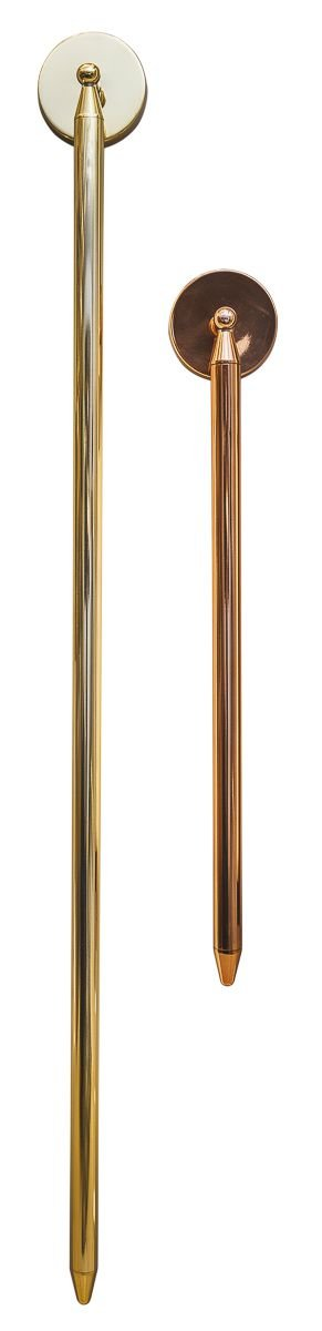 ARANDELA PEN 16466/120 Usina Iluminação Moderna Tubular Perfil Linear x Ø11x137cmx8 x 1 - T8 120 cm