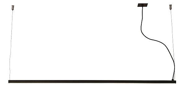 PENDENTE RÉGUA 31020/300 Usina Iluminação Perfil Linear Haste Moderno   x 2,3X 3mX 1,7 (1m cabo) x Fita LED