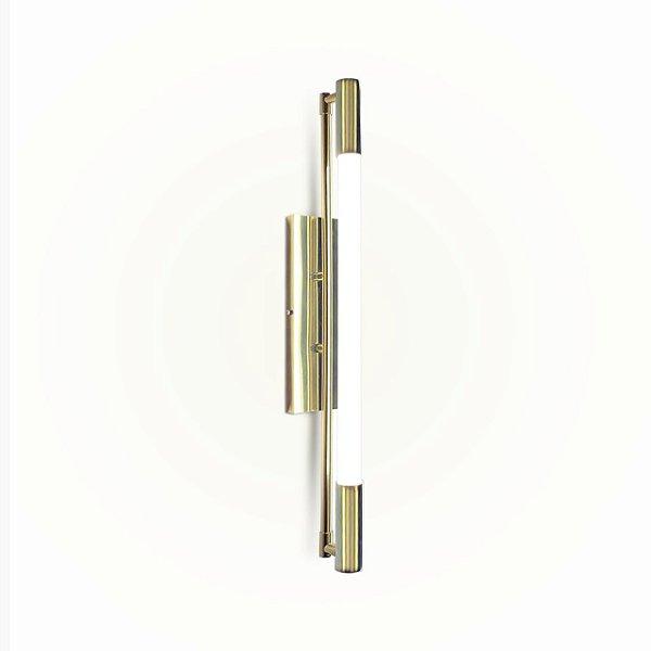 Arandela Golden Art P1900-60 SLIM  TuboLed 60 cm Tubular Moderna